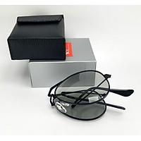 Mắt kính nam đổi màu dùng cả ngày và đêm DKYRBGDM. Gọng kính gấp gọn tiện lợi, đủ bộ hộp theo kính.