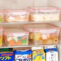 Bộ 2 hộp đựng thực phẩm chịu nhiệt tốt 730ml - Hàng Nội Địa Nhật
