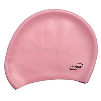 Mũ bơi cho người tóc dài Aryca Hồng