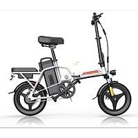 Xe điện thông minh thể thao siêu gấp gọn homesheel FTN T5s phiên bản 10 AH-hàng chính hãng-màu trắng