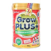 Sữa bột Nutifood Grow Plus + Đỏ 900g - Sữa cho trẻ 1-10 tuổi bị suy dinh dưỡng