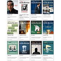 Bộ Nikkei Asian Review các số 26, 27, 28, 29, 30, 31, 32, 33, 34, 35, 36, 37 , tạp chí kinh tế nước ngoài, nhập khẩu từ Singapore