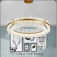 Đèn chùm pha lê cao cấp thiết kế sang trọng trang trí phòng khách, nhà hàng ,khách sạn, quán cafe 6028/600