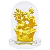 Kim Giáp Thìn phủ vàng 24K quà tặng mỹ nghệ KBP DOJI DJDE0519KG05