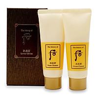 Bộ làm sạch da sữa rửa mặt và tẩy trang Whoo Gongjinhyang Foam 2pcs