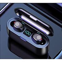 Tai Nghe Bluetooth Không Dây Lanith 5.0 F9 - Tai Nghe Airpods Cao Cấp - Kiểu Dáng Độc Đáo, Nhỏ Gọn - Âm Thanh Mềm Mượt, Thoải Mái, Không Làm Nhức Tai - Hàng Nhập Khẩu - TAI000F9B