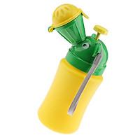 Portable Potty Urinal Emergency Toilet Car Travel Pee Bottle for Boys Green