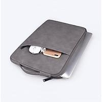 Túi chống sốc Macbook, Laptop cao cấp Shyiaes da cừu