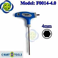 Lục giác T C-MART F0014-4.0 4.0mm cán xanh