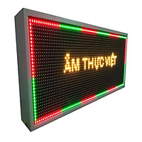 Biển quảng cáo màn hình LED thông minh HIKARU 3 màu, 2 mặt hiển thị, KT cao 360 x rộng 680