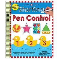 Wipe Clean: Starting Pen Control