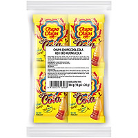 Kẹo Dẻo Chupa Chups Cola (Túi 16 gói 24g)