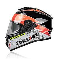 Mũ bảo hiểm Fullface YOHE 981 đủ màu 2 kính