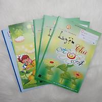 5 Tập Luyện Chữ In Hoa (3 Tập Mẫu, 1 Tập Trắng ô Nghiêng và 1 Tập Trắng ô Đứng)