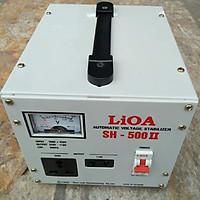 Ổn áp lioa 500va - 500w Model SH - 500 II đời mới nhất dây đồng 100%
