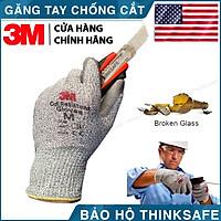 Găng tay chống cắt 3M cấp độ 5 chuyên dùng chống cắt tôn kính găng ôm tay dễ thao tác 3M CUT LV5 (Màu xám)