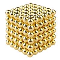 Khối 216 nam châm bi xếp hình sáng tạo (size 5mm Gold)