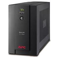 Bộ Lưu Điện Hãng APC Back-UPS 1100VA, 230V, AVR, Universal and IEC Sockets - BX1100LI-MS - Hàng Nhập Khẩu