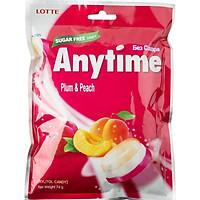 Kẹo Lotte Anytime Mận Đào 74g