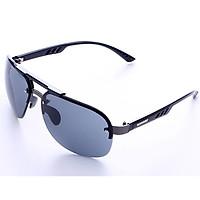 Men Fashion Rimless UV400 Protection Sunglasses Polarized Driving Sunglasses