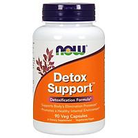 Thực phẩm bảo vệ sức khỏe Detox Support hãng Now foods USA Thải độc cơ thể, giải độc gan, tăng cường chức năng gan