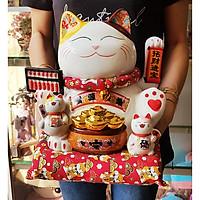 Mèo Thần Tài tay vẫy 27cm - Kinh Doanh Thịnh Vượng