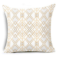 Simple Printing Cushion Cover Decorative Pillow Case Throw Pillow Cover Home Decor