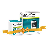Combo máy đo đường huyết Accu-chek Instant mmol/L