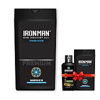 Sữa tắm nhiệt Ironman Encounter tặng sữa tắm nhiệt Ironman Encounter  và dung dịch vệ sinh nam tinh chất thảo dược 120g