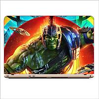 Miếng Dán Skin In Decal Dành Cho Laptop -Người khổng lồ xanh Hulk 3