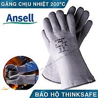 Găng tay chịu nhiệt ANSELL 42-474 bao tay chịu nhiệt 204°C chuyên dùng cầm lò nướng, tao tác cơ khí nóng (PR CODE: 42474)