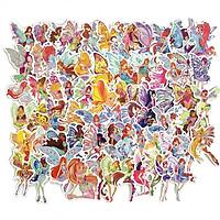 Bộ 70 miếng Sticker hình dán winX Princess