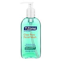 Gel rửa mặt thông thoáng lỗ chân lông T-Zone Clear Pore Facial Wash 200ml [ Được Mask 3W Clinic ]