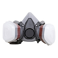 Half Face Painting Spraying Respirator Gas Mask Protect Dust Mask for Safety Work Filter Welding Spray Protective Anti