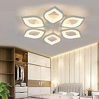 Đèn trần - đèn led mâm - đèn ốp trần - đèn trang trí phòng khách LUCIA có 3 màu ánh sáng được điều khiển từ xa