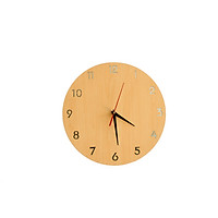 Đồng Hồ Treo Tường Mặt Gỗ Acescor DHG06- Nội Thất Sang Trọng, Trang Trí Nhà Cửa, Quán Cà Phê, Homestay (Wall Clock Acescor)