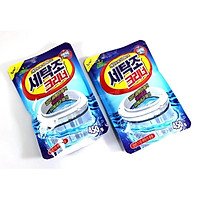 Bộ 2 gói bột tẩy vệ sinh lồng máy giặt
