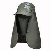Có Thể Gấp Lại Được Sấy Khô Nhanh Chống Nước Bèo Đi Nắng Cho Nam Nón Bảo Vệ Tia UV Nón Bóng Chày Mặt Bảo Vệ Cổ Breatha Hat Dual Sử Dụng Có Thể Tháo Rời