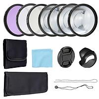 Bộ lọc ống kính UV CPL FLD và phụ kiện cận cảnh Macro 58mm