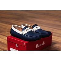 Giày lười, phong cách giày mọi, giày nam C6ML6T0 da bò Banglades, chính hãng Banuli
