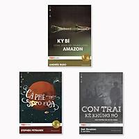 Combo 3 cuốn TedBooks: Kỳ Bí Dòng Sông Sôi Trong Lòng Amazon + Con Trai Kẻ Khủng Bố + Cà Phê Trên Sao Hỏa