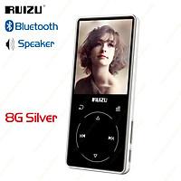 Máy nghe nhạc MP3 RUIZU D16 Metal Bluetooth Âm thanh di động Máy nghe nhạc 8GB  tích hợp Loa hỗ trợ, Máy ghi âm FM Radio Chức năng Sách điện tử Trình phát video