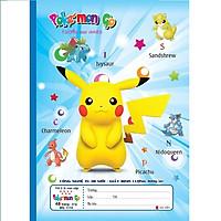 Lốc 10 vở 4 ôly Pokemon 48tr 1114 bìa 3D - giao mẫu ngẫu nhiên