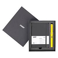 Gift Set Lamy Notebook A6 Softcover Black + Lamy Safari Yellow - GSA6-SA007