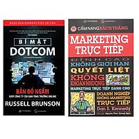 Combo Bí mật Dotcom ( tái bản 2021 ) + Cẩm nang bách thắng Marketing trực tiếp