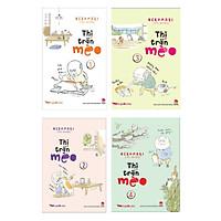 Combo Truyện Kể Cho Bé Hay Bộ 4 tập Thị Trấn Mèo ( Tặng Kèm Bookmark Thiết  Kế )