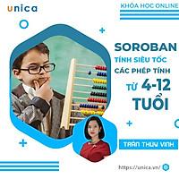 Khóa học NUÔI DẠY CON - Toán Soroban - tính siêu tốc cộng, trừ, nhân, chia cho bé từ 4-12 tuổi