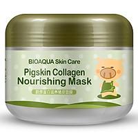 BIOAQUA 100g Pigskin Collagen Nourishing Mask Cleanse Pore Dirt Deeply Moisturizing Washing Clay Mask