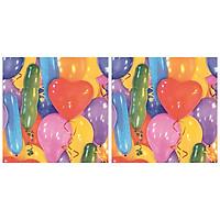Combo 2 Xấp Khăn Giấy Ăn Trang Trí Bàn Tiệc Tissue Napkins Design Ti-Flair 371725 (33 x 33 cm) - 40 tờ