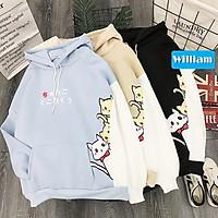 Áo Hoodie Nữ / Nam - Áo Khoác Nỉ Hình Ba Chú Mèo Siêu Dễ Thương Blazel, 3 Màu Sắc - Hàng Chính hãng